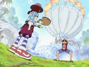 Miss Goldenweek vs. Luffy