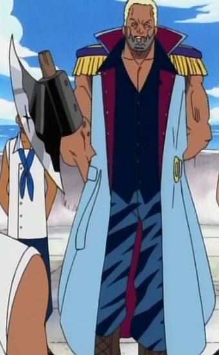 Morgan as a Captain