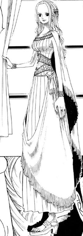 Nefertari Vivi Manga Debut Infobox