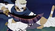 Ryuma con su espada