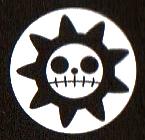 Segunda jolly roger de los Piratas de Kid