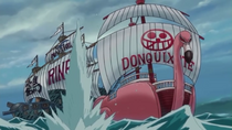 704. Корабль Цуру атакует Нумансию Фламинго