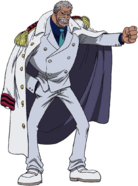 Monkey D Garp Anime Concept Art