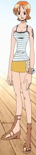 Nami's Outfit Jaya Arc
