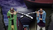 Yosaku dan Johnny Memblokir Arlong Park
