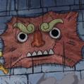Mur Zombie Portrait