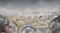Udon Prisoners Bow to Momonosuke