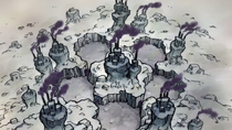 Vista aérea de la prisión