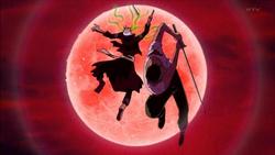 Zoro sconfigge Saga