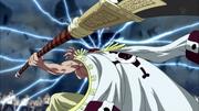 Barbe Blanche attaque avec Murakumogiri