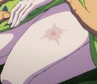 Cicatriz de Toki