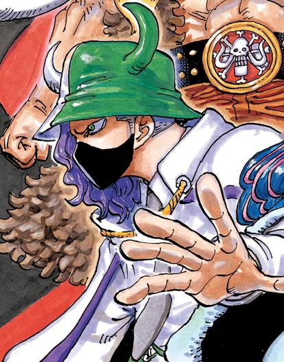 Page One en el manga a color