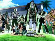 Équipage d'Arlong Anime