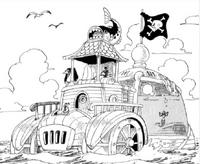 Barco de los Piratas de Macro