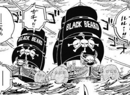Blackbeard Pirates Post Timeskip Ships