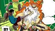 Blocking a Luffy attack
