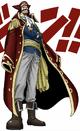 Gol D. Roger Digitally Colored Manga Color Scheme