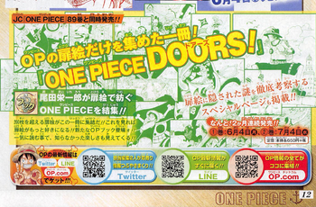 One Piece DOORS noticia