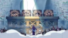 Carmel salva a los Piratas Gigantes Guerreros