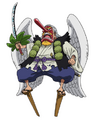 Concept Art de Tenguyama Hitetsu dans l'anime