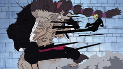 Jabura vs Sanji