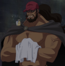 Maynard as 'Capman' in the Anime