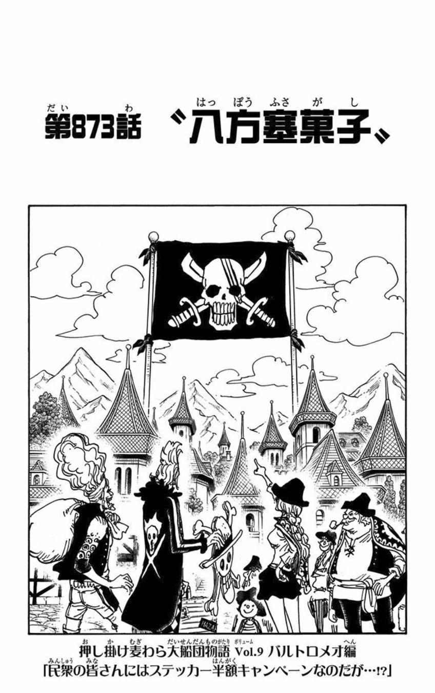 Chapter 873 One Piece Wiki Fandom Powered By Wikia
