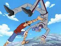 Luffy Bat Erik