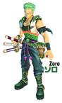 Penampilan Zoro One Piece Unlimited Cruise