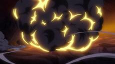 Zephyr derrota de nuevo a Luffy
