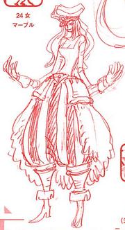 Charlotte Marble Manga Concept Art