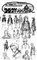 Concepts de Luffy et Zoro Post Ellipse