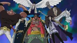 Los Piratas de Barbanegra antes del episodio 485
