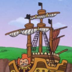 La nave di Oven