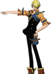 Sanji in Unlimited Adventure