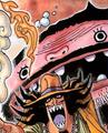 Wadatsumi a color en el manga