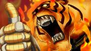 Die Legende der heiligen brennenden Bestie von Bulgemois