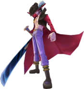 Dracule Mihawk in Unlimited Adventure