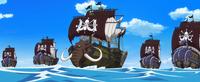 Flotte de l'Equipage de Kaido