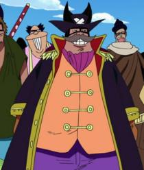 Kibagaeru Foxy Pirate