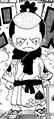 Présentation de momonosuke dans le manga