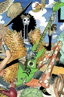 Brook Manga Post Timeskip Infobox