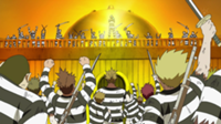 Buggy Pirates Impel Down convicts