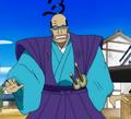 Galdino en el Especial Histórico del Jefe Luffy