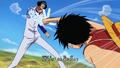 Kokoro no Chizu Luffy vs Aokiji