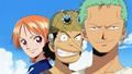 Kokoro no Chizu Nami, Usopp et Zoro