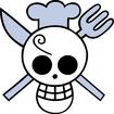 Sanji's Pre Timeskip Jolly Roger