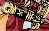 Coloreo original de Enma en el manga