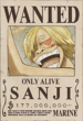 Sanji Only Alive Poster