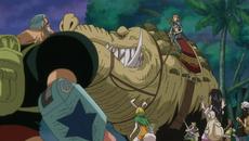 Wanda aparece frente a los de Sombrero de Paja